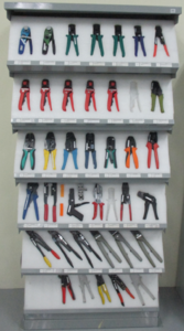 Wide range of manual crimping tools.Crimping tools from :JST,Molex,HRS,Tyco Electronics,DMC